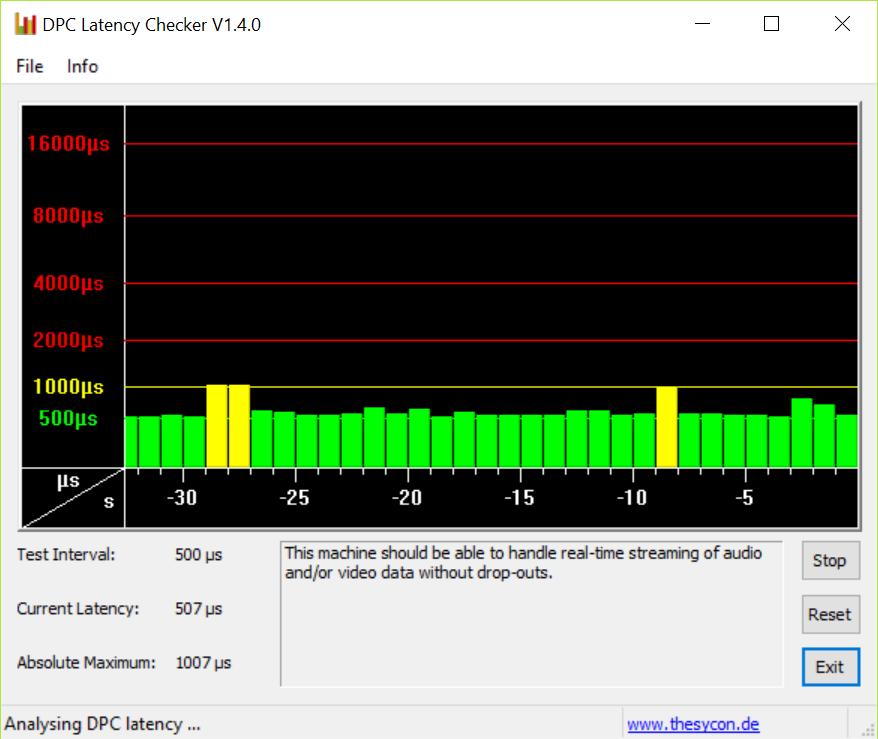 Win10 latency